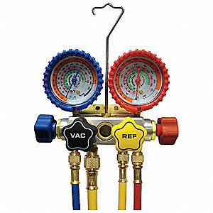 Mechanical Manifold Gauge Set,4-Valve