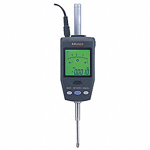 Electronic Digital Indicator, 1.2  / 30.4mm Range, .00002 , .00005 , .0001 , 0.0005mm,  0.001mm Reso