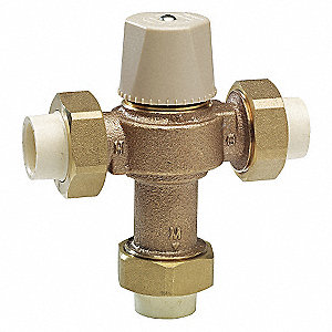 Thermostatic Mixing Valve,1/2 in.
