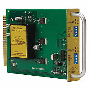 18 VDC, 2-Channel Vehicle Detector
