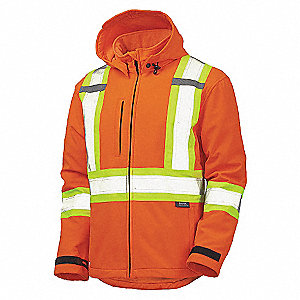 CSA JACKET SOFT SHELL HI VIS