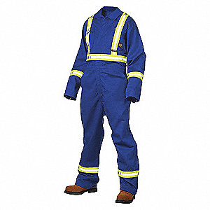FR COVERALL UNLINED W/ 3M STRIPES