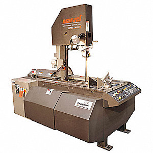 5 HP Vertical Band Saw, Voltage: 230/460, Max. Blade Length: 184""