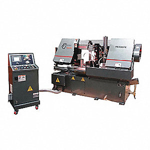 5 HP Horizontal Automatic Band Saw, Voltage: 230/460, Max. Blade Length: 174""