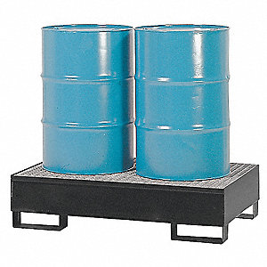 2-DRUM STEEL SPILLPALLET