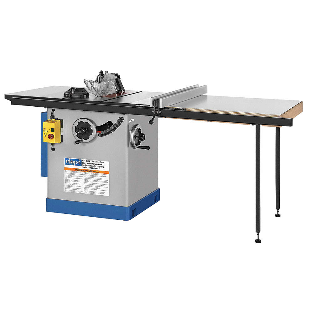 Scheppach 12 cabinet table saw 160 amps blade tilt left 58 zoom outreset put photo at full zoom then double click keyboard keysfo Choice Image