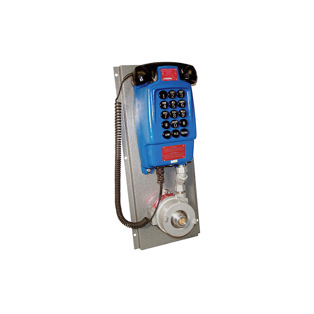 Explosion Proof Phone, Blue