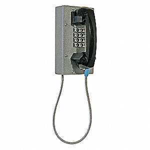 Compact Steel Telephone,Armored Cord