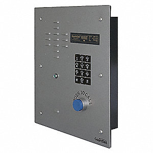 Emergency Telephone, Gray, Keypad