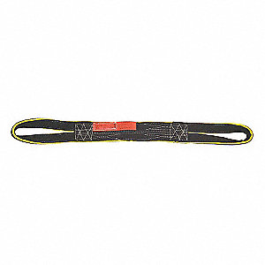 "4 ft. Reverse Eye - Type 6 Web Sling, Nylon, Number of Plies: 1, 2"" W"