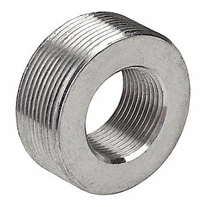 "1"" x 3/4"" Threaded IMC, Rigid Reducing Bushing, 3/4"" Overall Length"