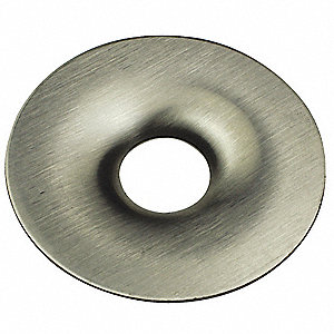 "1-1/2"" Rigid Escutcheon Plate, 6"" Overall Length"