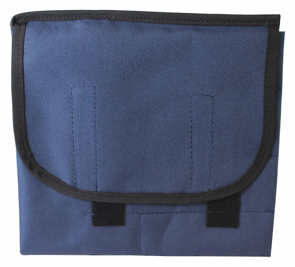 Laryngoscope Bag,  Polyester,  Blue,  Disposable Yes