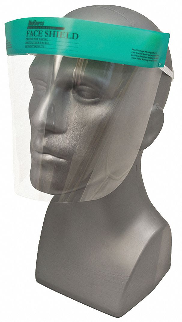 7 1/2 in Polyester Face Shield