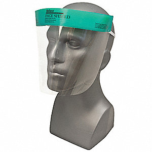 "7-1/2"" Polyester Face Shield"