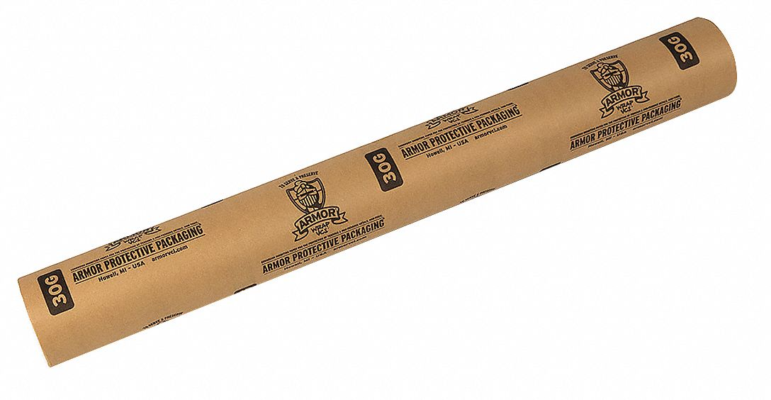 VCI Paper,  Roll,  30 lb Basis Weight,  Roll Width 36 in,  Roll Length 600 ft