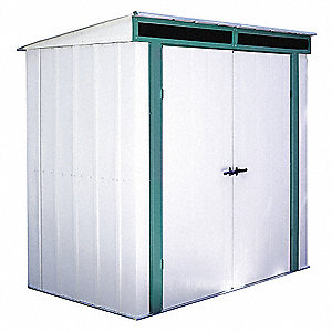 Outdoor Storage Shed,25 cu. ft.,Sand