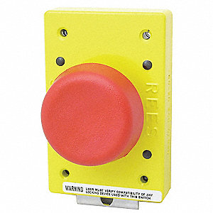 Emergency Stop Push Button Type Of Operator 57mm Mushroom Plunger Size Action Momentary P