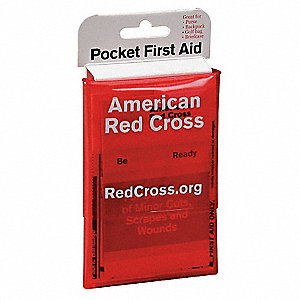First Aid Kit,Bulk,Red,19 Pcs,1 People