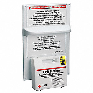 Bi-Lingual CPR Kit,Medium,Box