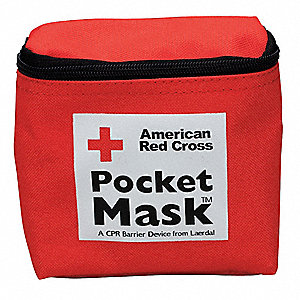 Pocket CPR Mask,Universal,Pouch