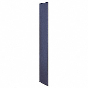 End Panel,Flat Top,D21 x H72,Blue