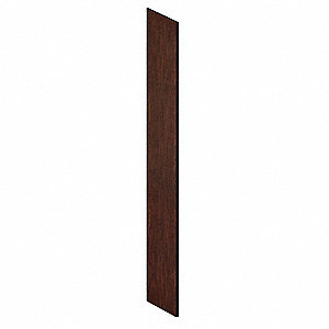 End Panel,Slope Top,D21 x H78,Mahogany
