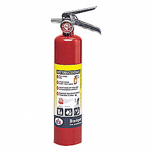 Fire Extinguisher,Plated Brass,2.5lb.