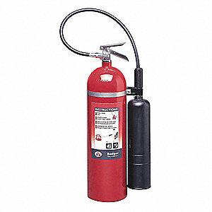 Fire Extinguisher,Carbon Dioxide,15lb,BC