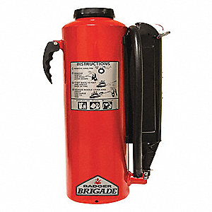 Fire Extinguisher,Dry Chemical,28.5lb,BC