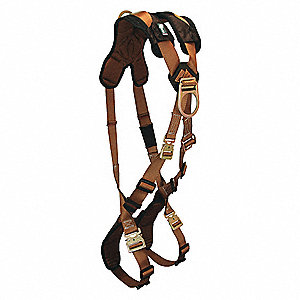 ComforTech® Full Body Harness with 425 lb. Weight Capacity, Brown, XL/2XL