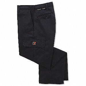 "Navy Pants, Nomex® IIIA, Fits Waist Size: 38"", 36"" Inseam, 8.4 cal./cm2 ATPV Rating"