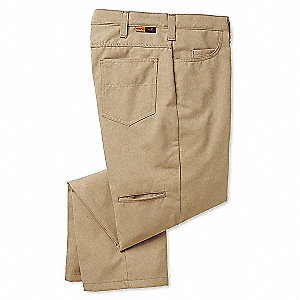 Pants,34 in. x 30 in.,Khaki