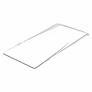 Bin Lid, Univrsl, Clear, for Mfr. No. 36120