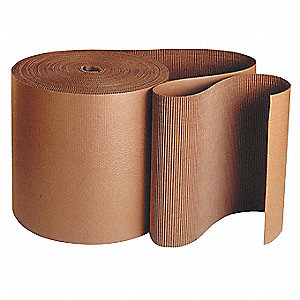 "Kraft Brown Corrugated Roll, 250 ft. Length, 60"" Width"