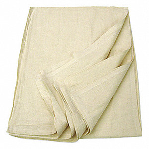 "90"" x 70"" 100% Cotton Bath Blanket, Unbleached"