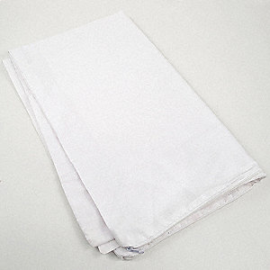 Standard 50% Polyester; 50% Cotton Pillow Protector, White