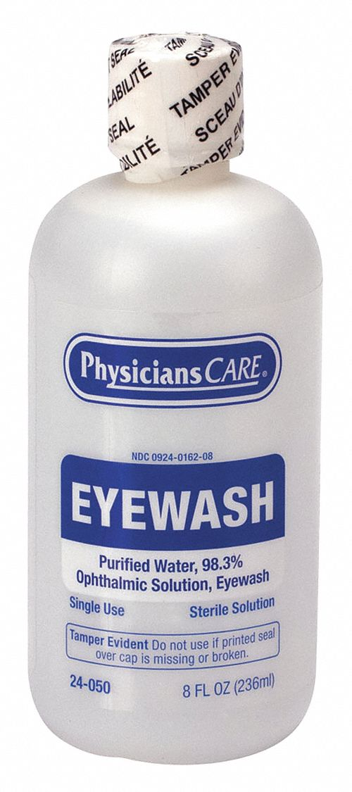 8 oz Personal Eye Wash Bottle