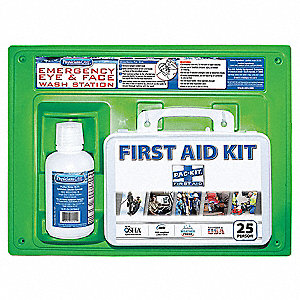 First Aid and Eye Wash,Bulk,160Pcs