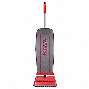Upright Vacuum,AirFlow 108cfm,FineFilter
