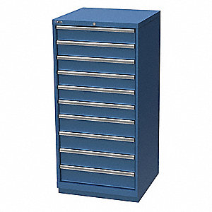 Modular Drawer Cabinet,59-1/2 In. H