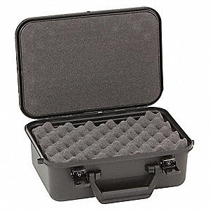 "Protective Case, 12-3/4"" Overall Length, 9-3/8"" Overall Width, 5-3/8"" Overall Depth, Polypropylene"