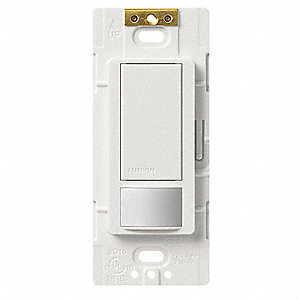 Wall Switch Box Hard Wired Occupancy Sensor, 900 sq. ft. Passive Infrared, White