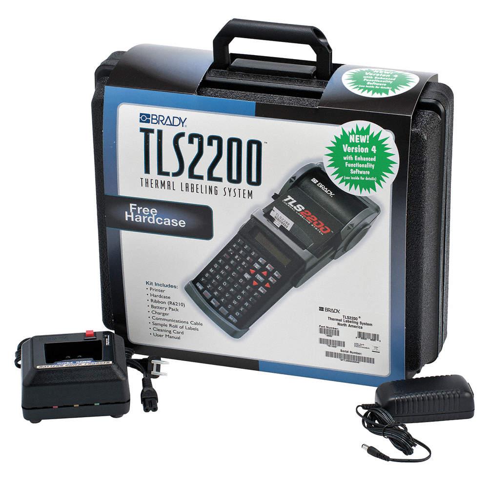 BRADY Portable Label Printer, Printer Series: TLS 2200