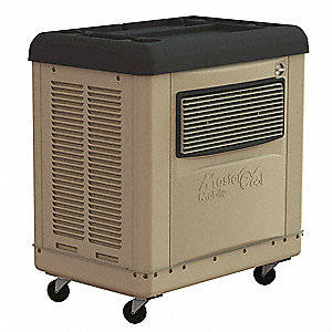 Portable Evaporative Cooler,3000 CFM