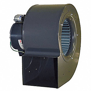 Rectangular OEM Blower Without Flange, Voltage 115/230, 1400 RPM, Wheel Dia. 8-1/16""