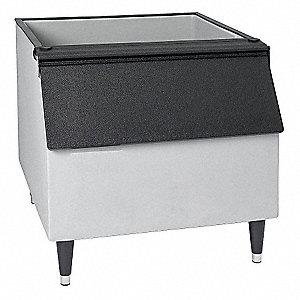 "30"" x 34"" x 37"" Commercial Ice Storage Bin with 242 lb. Ice Storage Capacity"