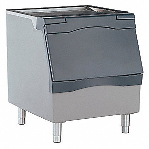 "30"" x 34"" x 37"" Commercial Ice Storage Bin with 344 lb. Ice Storage Capacity"