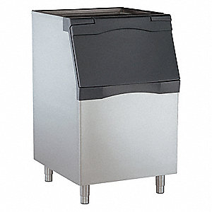 "30"" x 34"" x 50"" Commercial Ice Storage Bin with 536 lb. Ice Storage Capacity"