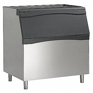 "48"" x 34"" x 50"" Commercial Ice Storage Bin with 893 lb. Ice Storage Capacity"